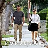 Ben Affleck and Jennifer Garner Walking in LA Sept. 2016