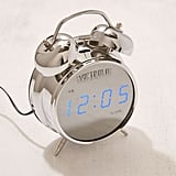 Victrola Retro Chrome Digital Alarm Clock