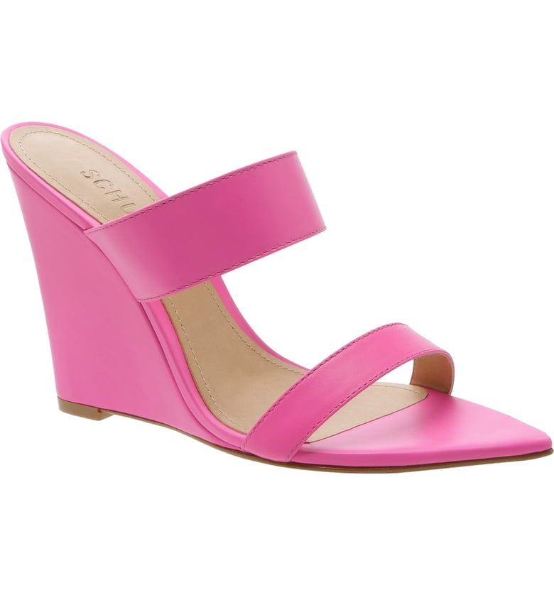 Schutz Soraya Wedge Slide Sandals