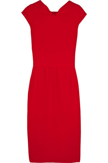Oscar de la Renta | Wool-crepe dress | NET-A-PORTER.COM | $1,590
