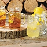 Mason Jar Drinking Glass