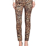 7 For All Mankind Leopard-Print Jeans