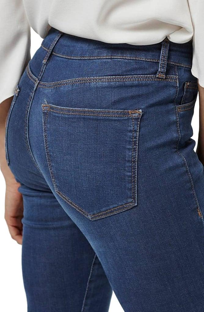 Topshop Leigh Jeans in Indigo