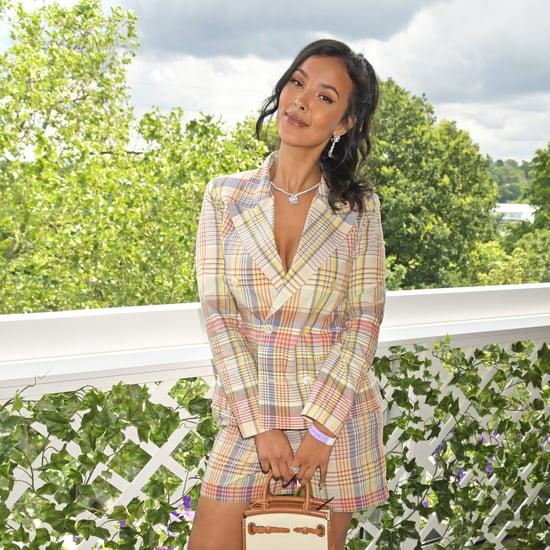 Maya Jama and Ben Simmons Public Debut at Wimbledon