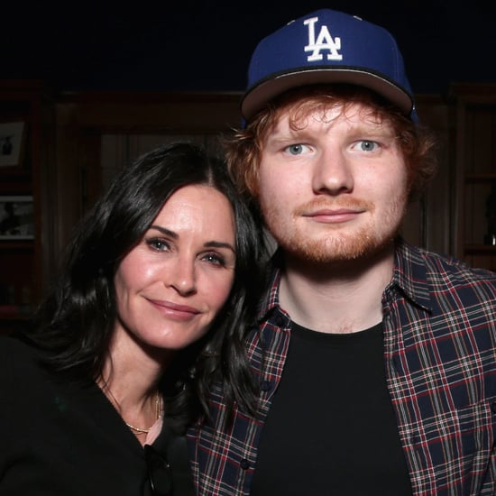 Ed Sheeran Setting Up Courteney Cox and Johnny McDaid