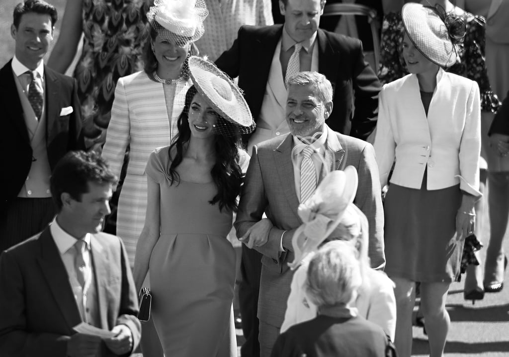 We don't know about you, but every time we see Amal and George Clooney cosying up together, we have to do a double take to make sure it's not a film still. The picture-perfect parents' relationship is as strong as their chemistry with the camera, and each time they're snapped, it seems to become instantly iconic — especially when in black and white. One thing is for sure: this is one classic film that would be at the top of our watch lists. From the Duke and Duchess of Sussex's royal wedding to the Met Gala, read on to ogle their beauty, before reliving their truly gorgeous wedding album.      Related:                                                                                                           24 Times George and Amal Clooney Looked Madly in Love