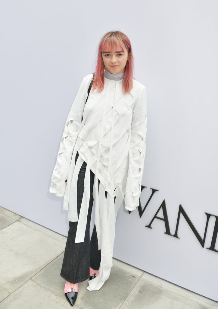 Maisie Williams at the JW Anderson London Fashion Week Show