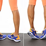 Shin Splints: Calf Raises — Internal Rotation