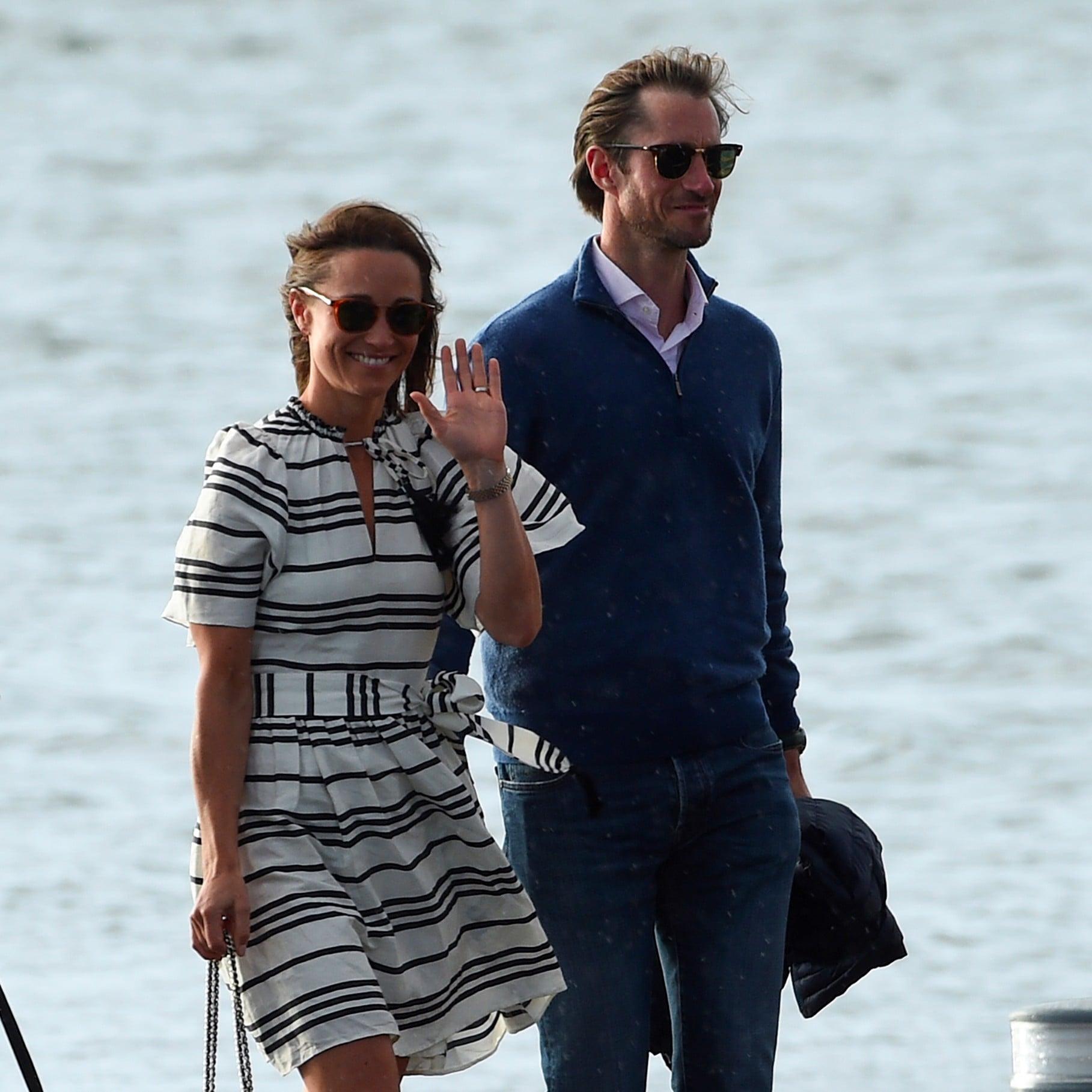 Pippa Middleton Wearing Espadrilles on Her Honeymoon