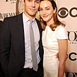 The pair was all smiles when they attended the Tony Awards in June 2014, marking their first public appearance as a married couple.