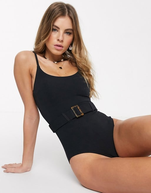 New Look Belted Swimsuit