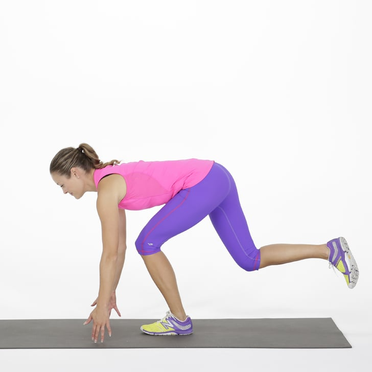 Single-Leg Toe Touch   Bodyweight Workout For Abs