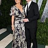 Rebecca Rigg and Simon Baker
