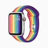 Shop the Apple Watch Pride Edition Sport Band