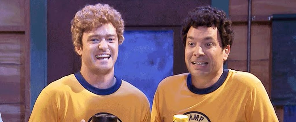 "Justin Timberlake and Jimmy Fallon Return to Camp Winnipesaukee and Sing ""Ironic"""