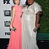 Modern Family's Sarah Hyland and American Horror Story's Gabourey Sidibe posed together.