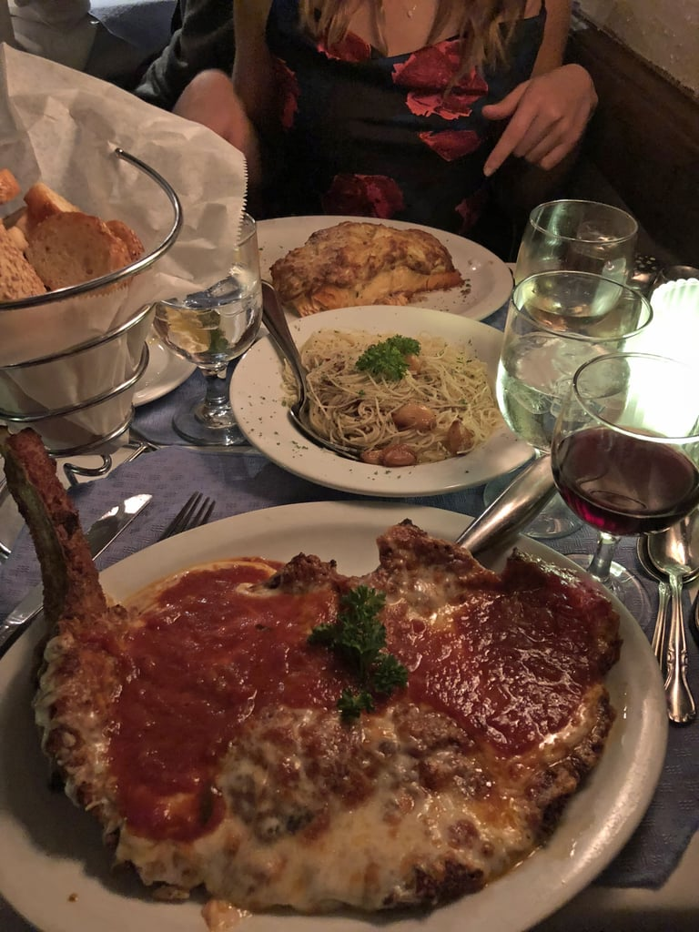 I enjoyed dinner.