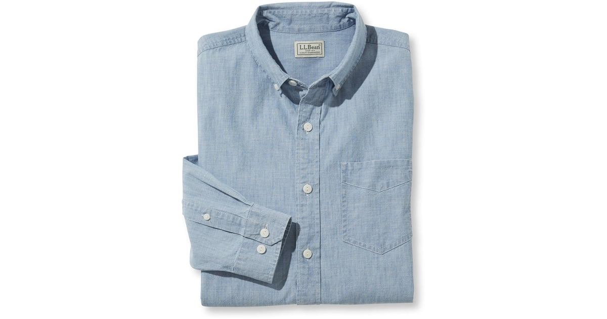 Chip 39 s chambray button up chip and joanna gaines for Cuisine you chambray