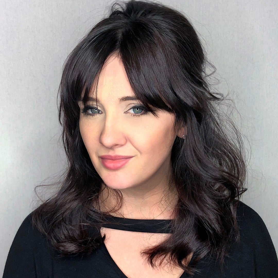 Curtain Bangs Hairstyle Ideas Popsugar Beauty
