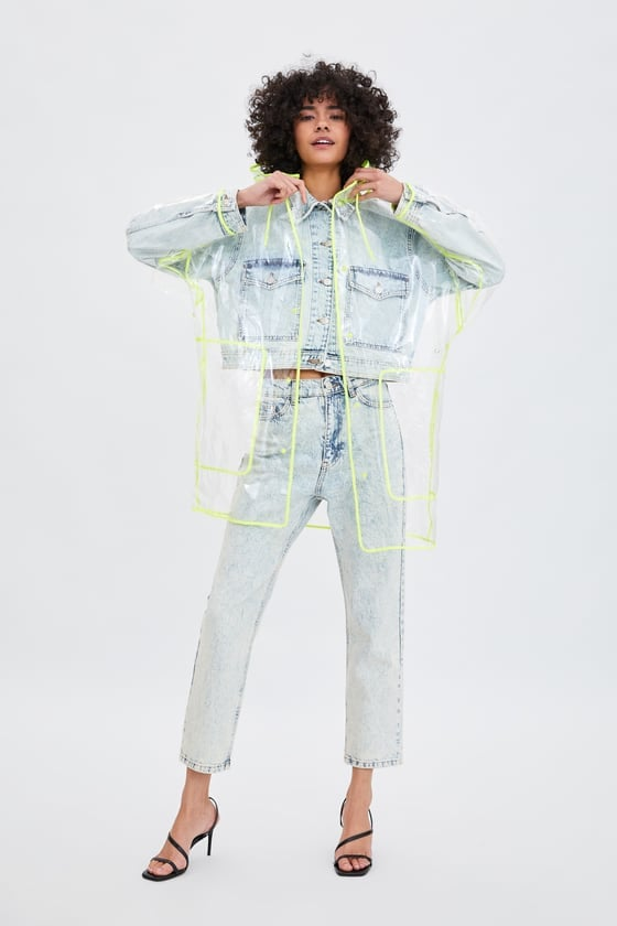 Zara Transparent Raincoat