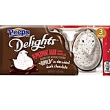 Peeps Delights Peppermint Bark-Flavored Marshmallow Dipped in Dark Chocolate
