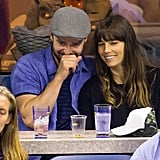 Justin Timberlake and Jessica Biel Enjoy a PDA-Filled Date Night at the US Open