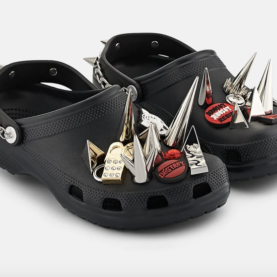 Barneys New York Spiked Crocs