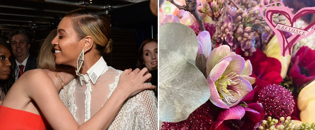 Beyoncé Sent Taylor Swift Flowers After the 2021 Grammys
