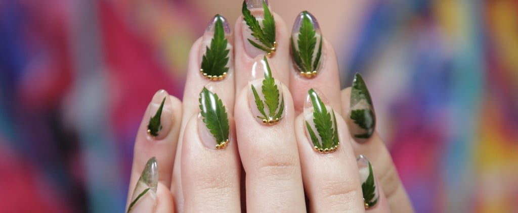 This Budding Trend Puts Actual Marijuana in Your Manicure