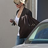Cameron Diaz was all smiles as she stepped out in Beverly Hills.