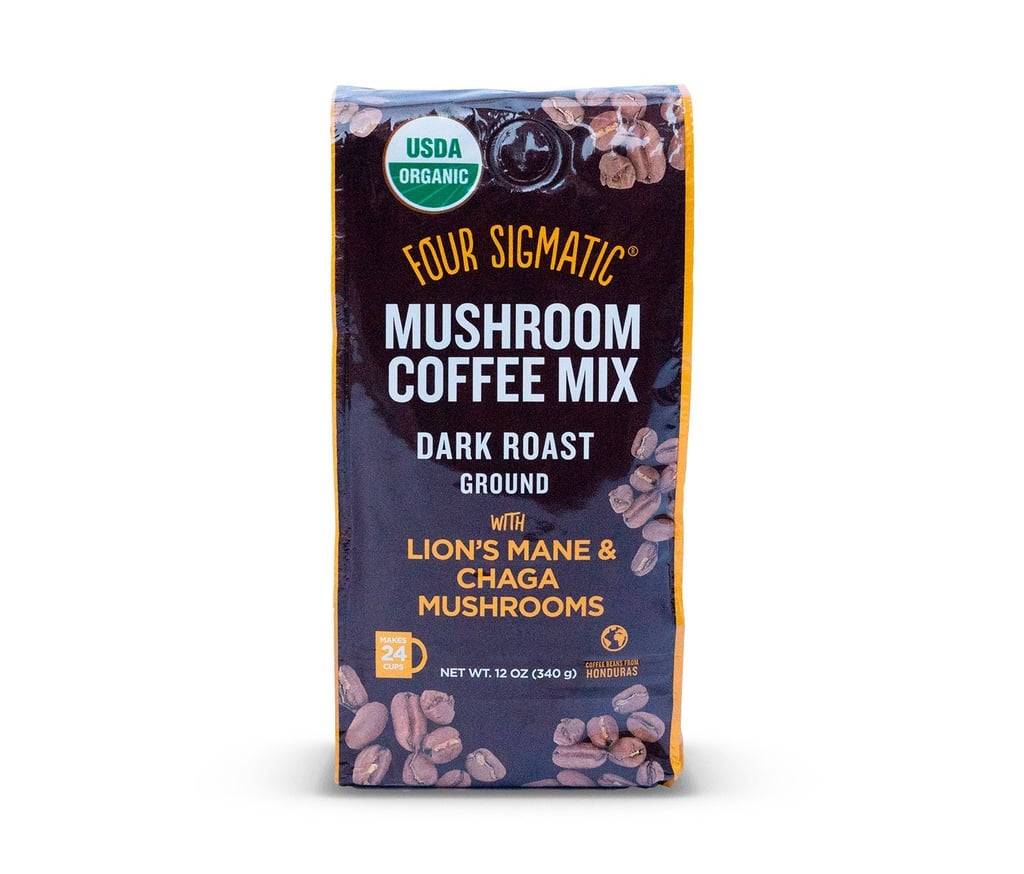 Four Sigmatic Mushroom Ground Coffee With Chaga and Lion's Mane