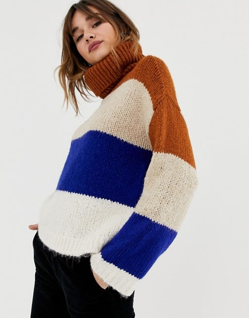 Stradivarius Bold Stripe Sweater