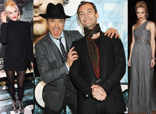 Photos from the Sherlock Holmes US Premiere with Robert Downey Jr, Jude Law, Rachel McAdams, Gwen Stefani, Gavin Rossdale