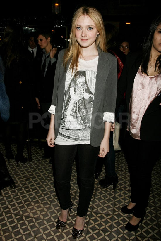 Photos of Dakota Fanning and Kristen Stewart at The Runaways NYC Premiere Afterparty