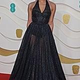 Hannah John-Kamen at the 2020 BAFTAs in London