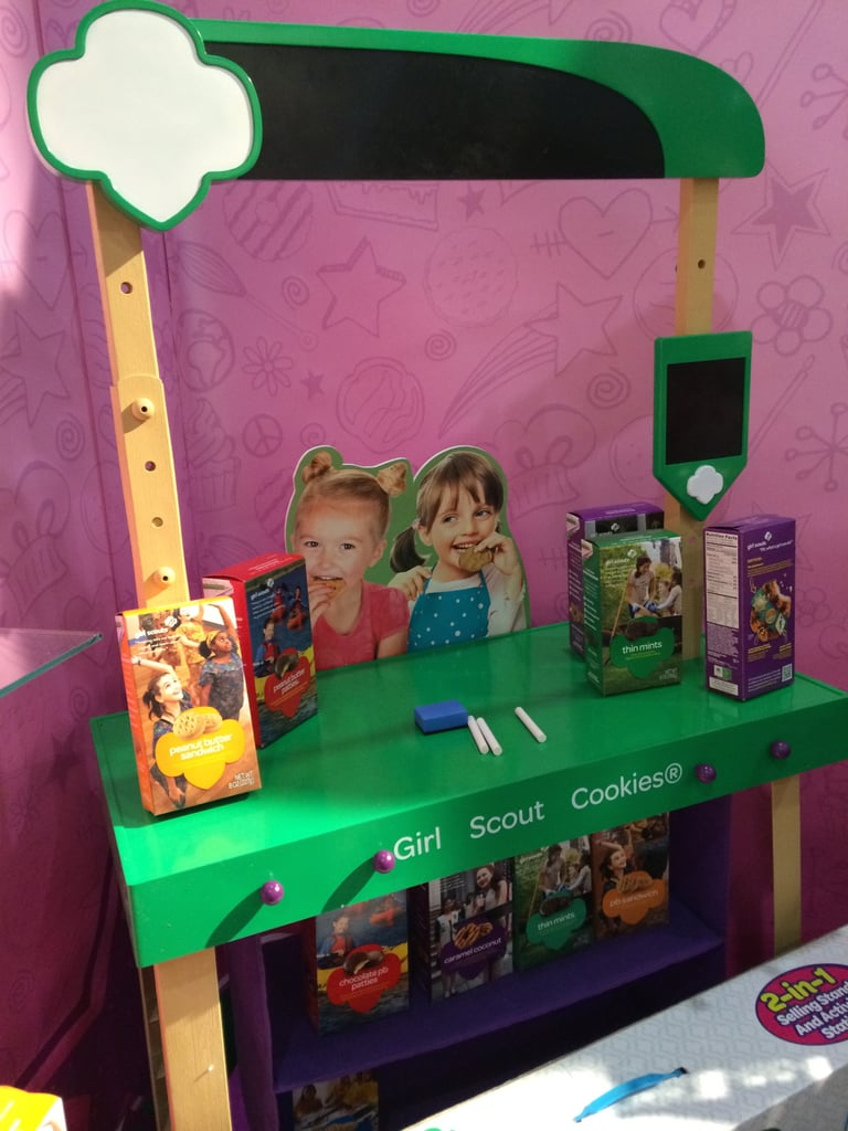 Girl Scout Cookie Stand