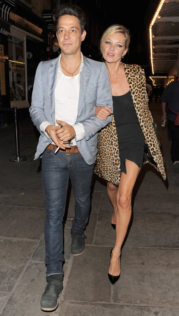 Kate Moss and Jamie Hince Out For Dinner In London