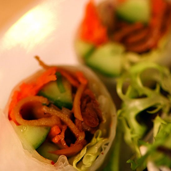 Healthy Game-Day Snack: Veggie Spring Rolls