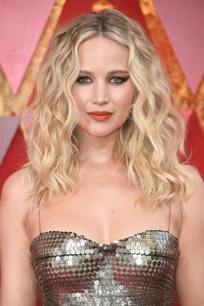 Jennifer Lawrence Oscars Makeup and Hair 2018