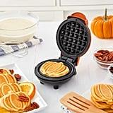 Dash Pumpkin Mini Waffle Maker