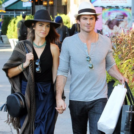 Ian Somerhalder and Nikki Reed in NYC October 2015