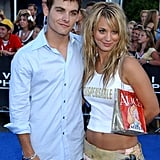 Kaley Cuoco and Kevin Zegers, 2003