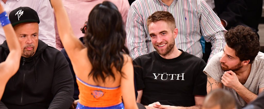 Robert Pattinson Gets Distracted by Knicks Dancers While at the Game in NYC