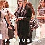 Jessica Biel at a Meeting Amid Pregnancy Rumors | Photos