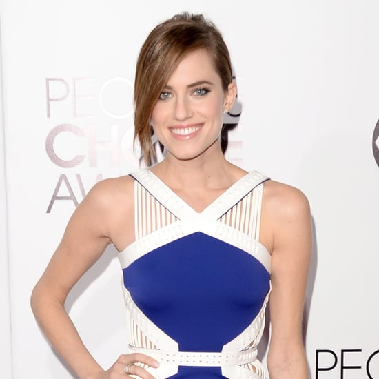 Allison Williams Hair at People's Choice Awards 2014