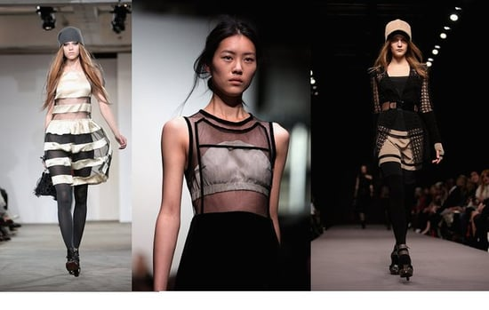 Fall 2009 London Trend Report: Graphic Transparency