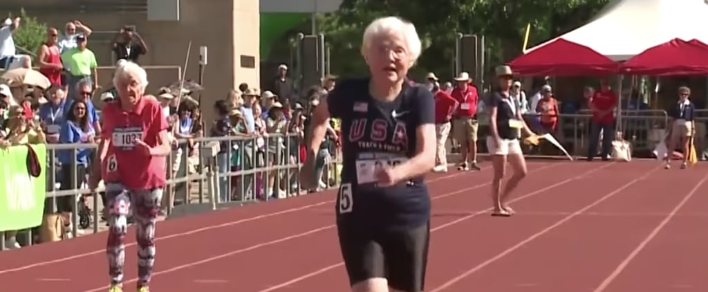 "Julia ""Hurricane"" Hawkins Wins Gold in 100-Meter Dash"