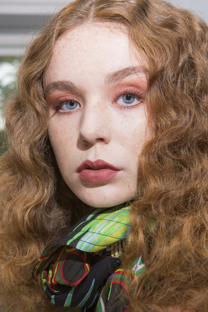Soft Curls at Cynthia Rowley NYFW Spring 2018