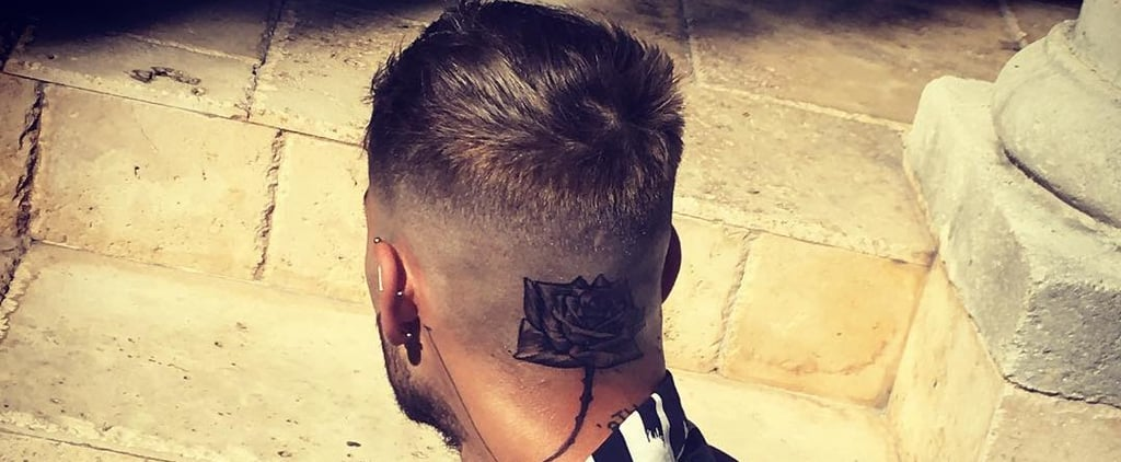 Um, Zayn Malik's New Rose Tattoo Is Definitely Not For the Faint of Heart
