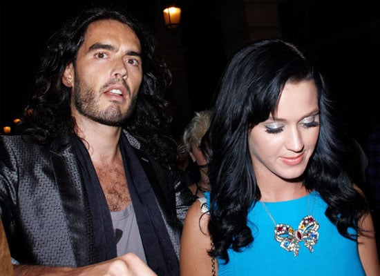 Photos of Russell Brand and Katy Perry at PFW